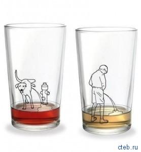 оригинальные стаканы