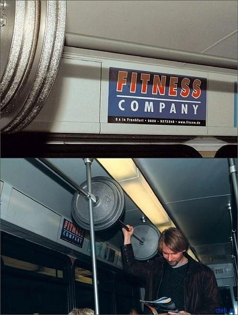 Занимайте спортом даже в метро
