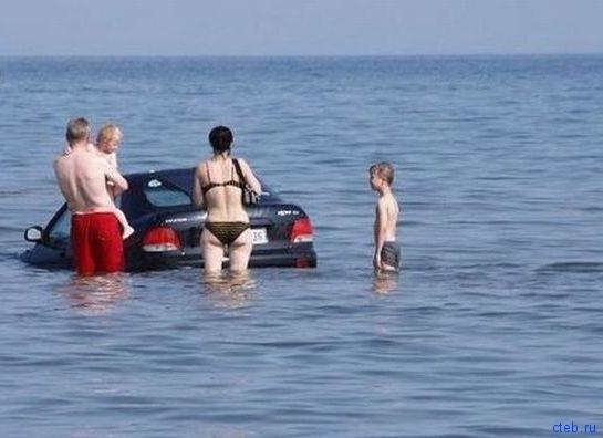 Вот дети - это море