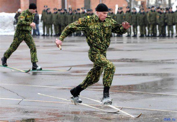 Суровая российская армия