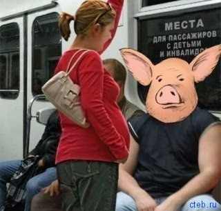 Не будь свиньей