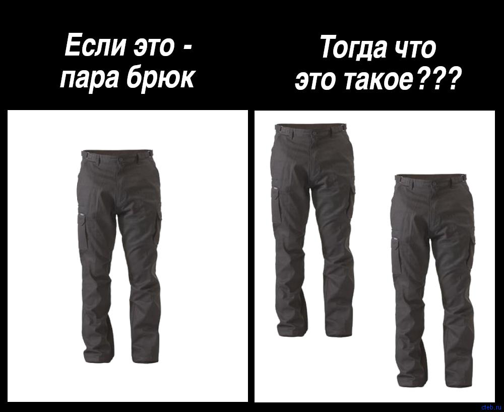 Пара брюк